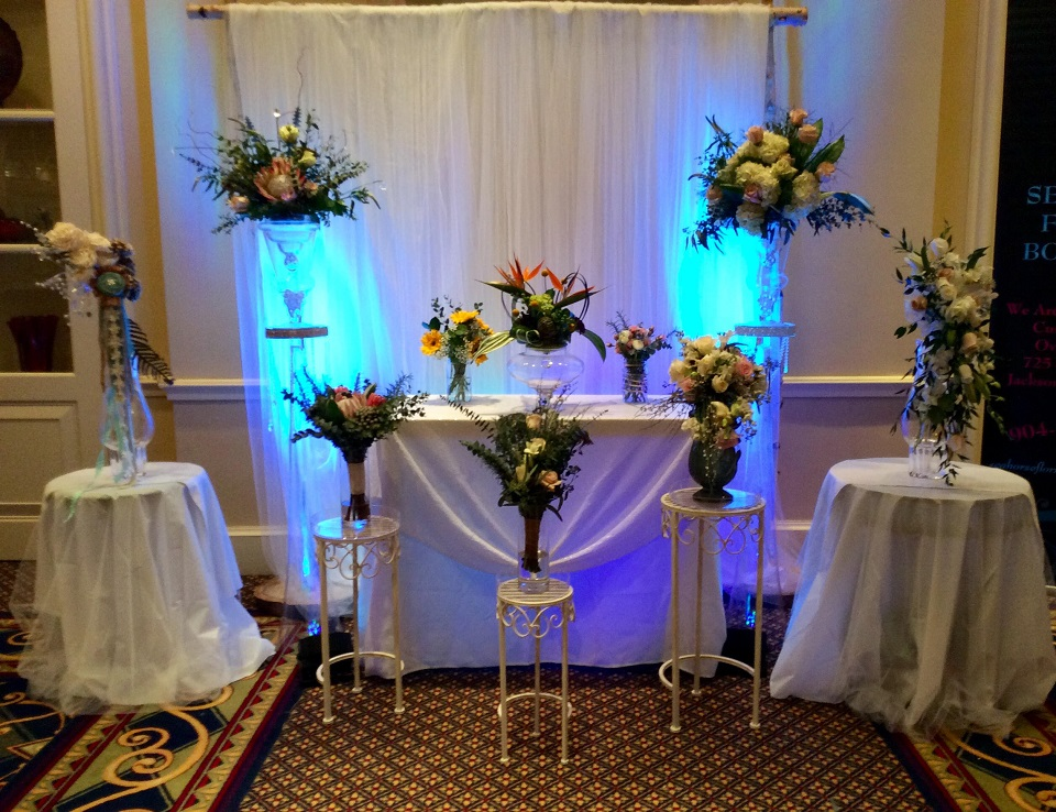 Both at Wedding Expo at Marriott Hotel South Point in Jacksonville, Florida